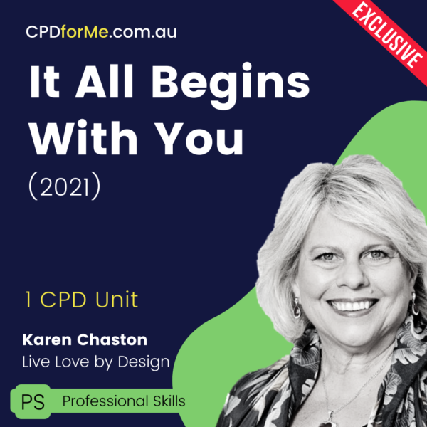It All Begins With You (2021) Online CPD
