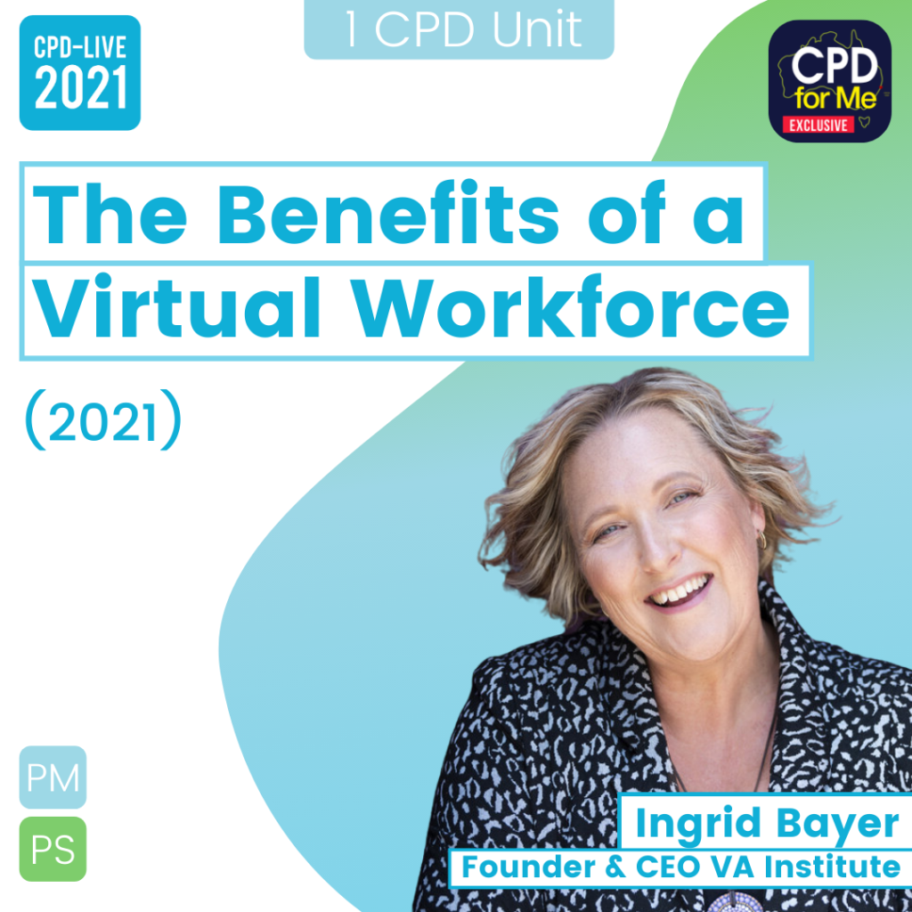 The Benefits of a Virtual Workforce - 26th March 1pm-2pm