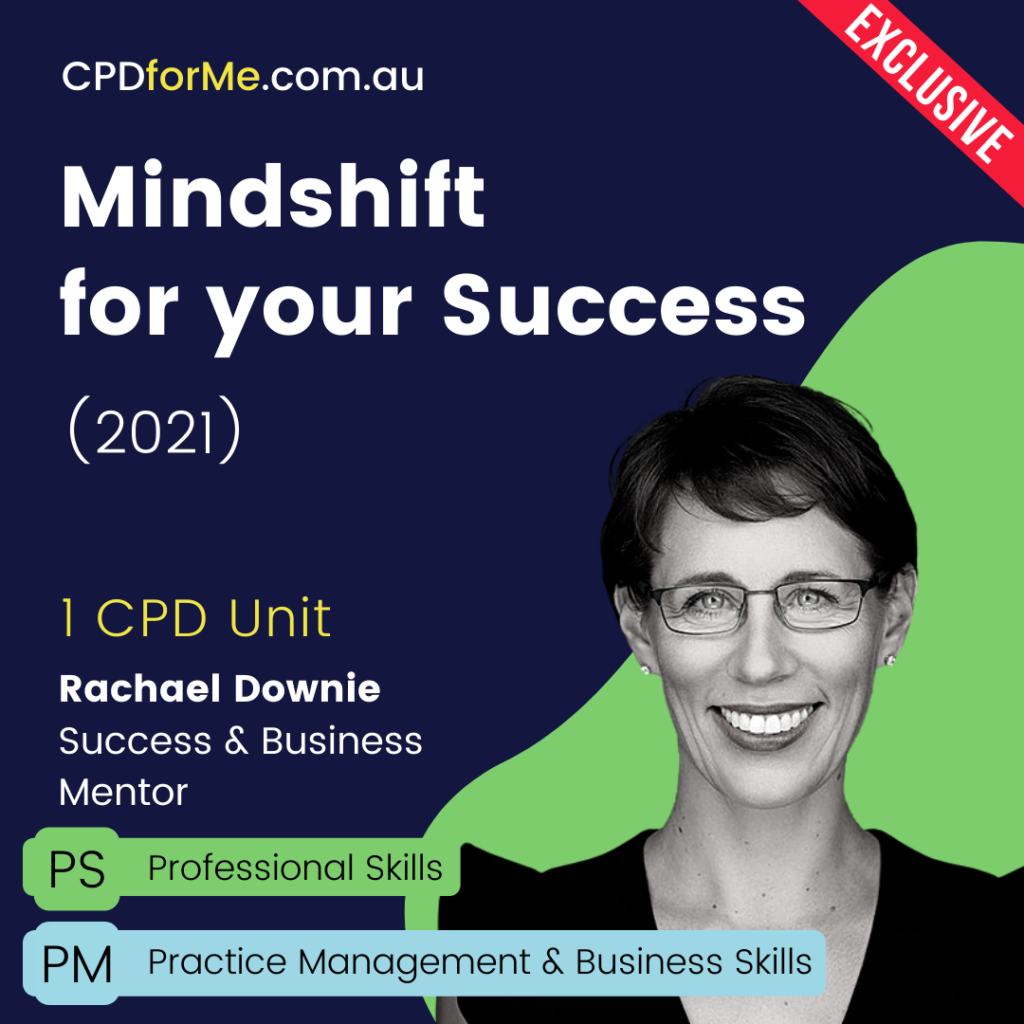 Mindshift for your Success (2021) Online CPD