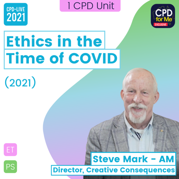 Steve Mark - Ethics in the Time of Covid box image