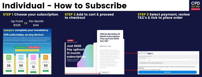 CPDforMe FAQs Subscribers - How to resubscribe