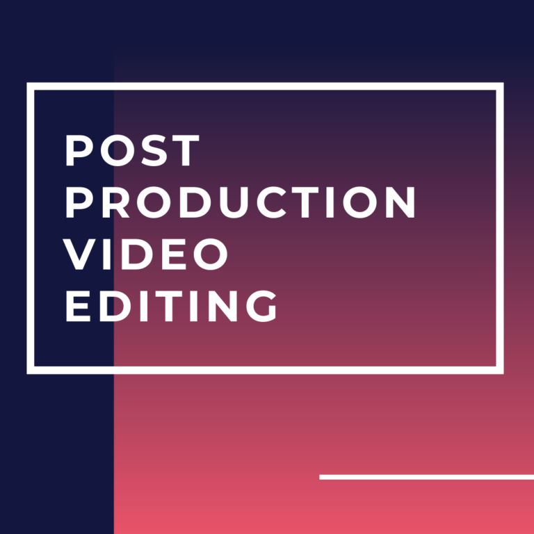 CPD for Me Studio Services - Post Production and Video Editing - CPD for Me